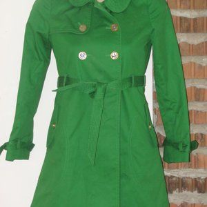 Juicy Couture Girls Trenchcoat Raincoat Age Sz 10